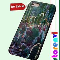 cactus garden custom case for smartphone case