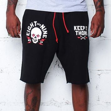 Keep It Thoro Terry Shorts Black