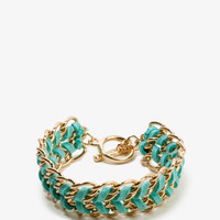 Woven Chain Toggle Bracelet