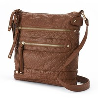 Under One Sky Perforated Crossbody Bag