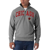Chicago Bulls - Striker 1/4 Zip Premium Sweatshirt