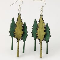 Huge Redwood Trees small enough to hang on by GreenTreeJewelry
