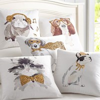 Party Animals Pillow Covers