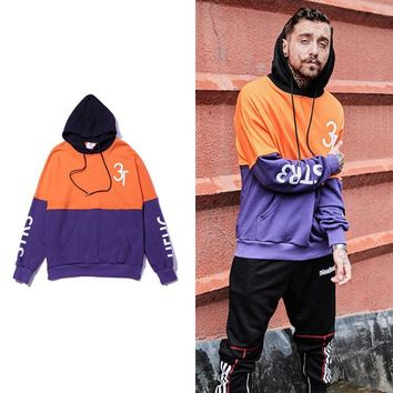 Hip-hop Pullover Strong Character Hoodies [27736735763]