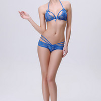 Strappy Lace Lingerie B007820
