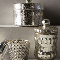 Coronation Vanity Canister by Anthropologie in Silver Size: