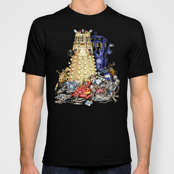 Dalek is The Best Robot in the universe Made in USA Short sleeves tee tshirt
