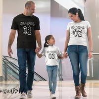 Halloween family shirts, Family Halloween shirts, matching family Halloween shirts, Matching family halloween costumes