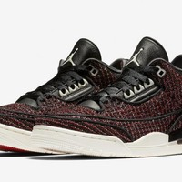 WMNS Vogue X Air Jordan 3 AWOK - University Red