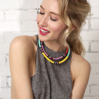 Tribal Collar Necklace - Set of Two