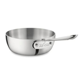 All-Clad Stainless Steel 1-Quart Saucier