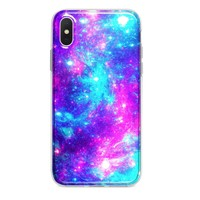 COTTON CANDY GALAXY CUSTOM IPHONE CASE