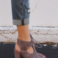 Something Divine Booties - Ash