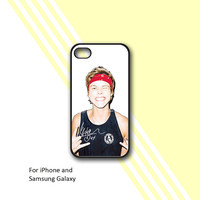 Asthon Irwin Cool - Print on hard cover For iPhone and Samsung Galaxy