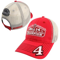 Kevin Harvick Chase Authentics 2014 NASCAR Sprint Cup Series Champion Fan Adjustable Hat - Red