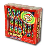 12 Count Warheads Candy Cane