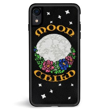 Moonchild Embroidered iPhone XR Case