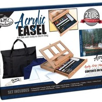 Royal & Langnickel Acrylic Easel Art Set with Easy to Store Bag   AihaZone Store