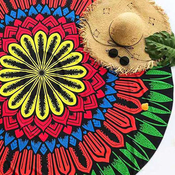 Cupshe Sweet Watermelon Ethnic Tapestry