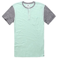 On The Byas Barney Contrast Henley Tee at PacSun.com
