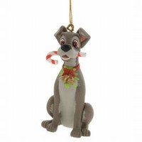 Disney Christmas Magic Grolier Tree Ornament Figure Tramp Dog from Lady And The - Walmart.com