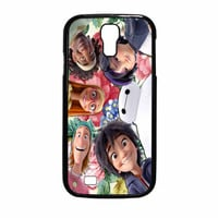 Big Hero 6 Selfie Floral All Characters Samsung Galaxy S4 Case