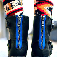 Step By Step Boot - Black