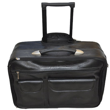 Mobile Office Laptop Briefcase Rolling Laptop Case
