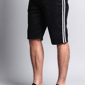 Men's Shorts with Stripes