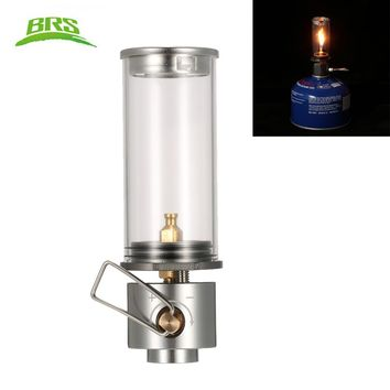 Gas Camping Lantern Camp Equipment Gas Candle Lights Lamp Tent Light Lamp for Outdoor Hiking Emergencies with Storage Box brs-55