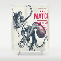 MATCH Shower Curtain by Pato