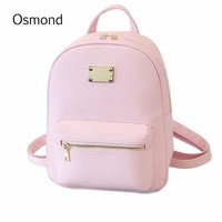 Osmond  Leather Backpack
