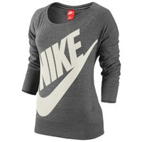 Nike Gym Vintage Long Sleeved Jersey Crew - Women's