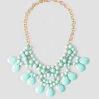 BOCA DEL RIO BEADED NECKLACE IN TURQUOISE