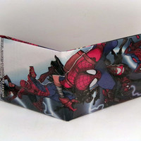 Comic Book Wallet// Multiple Versions of Spider-Man