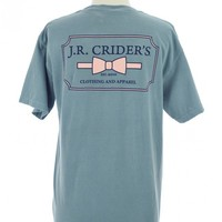 The Ladies' Logo Tee in Ice Blue