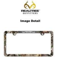 Realtree Outfitters Camo Car Truck SUV License Plate Frame