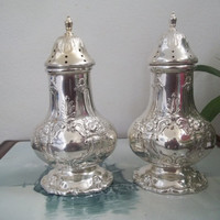 R&B STERLING SALT and PEPPER *Free S/H Francis I by Reed and Barton 1st First Silver 925 1900's (Guam/U.S.A.)
