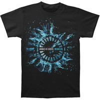 Animals As Leaders Men's  Splash Black T-shirt Black