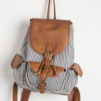 Travel, Athletic, Vintage Inspired, 90s, Scholastic Pack to the Drawing Board Backpack by ModCloth