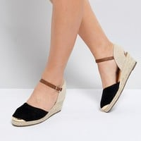 Miss KG Wedge Espadrille With Ankle Strap at asos.com