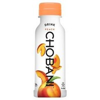 Chobani Peach Flavored Greek Yogurt 10 Fl Oz