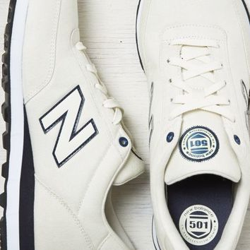 AEO Men's New Balance Rugby 501 Sneaker (White)