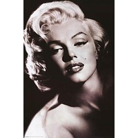 Marilyn Monroe Shadow and Light Portrait Poster 24x36