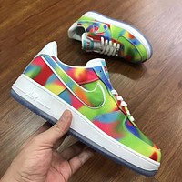 Nike Air Force One fashion low-top casual sneakers for both men and women-11