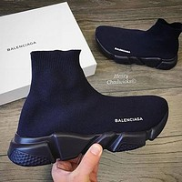 Balenciaga Woman Men Fashion Breathable Sneakers Running Shoes 5 (color)-2
