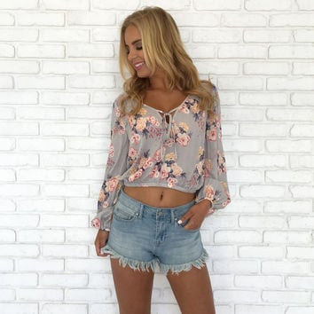 Cheers & Rose Floral Blouse