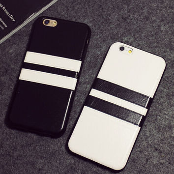 Straps Leather Case Sports Cover for iPhone 7 5s se 6 6s Plus +Gift Box
