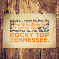 """Rocky Top Poster - 17"""" x 11"""""""