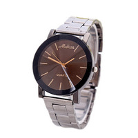Fashion Men Steel Strap Watches Boys Casual Sports Watch Best Christmas Gift